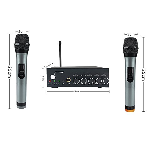 the singing machine wireless microphone instructions