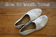 toms shoes care instructions