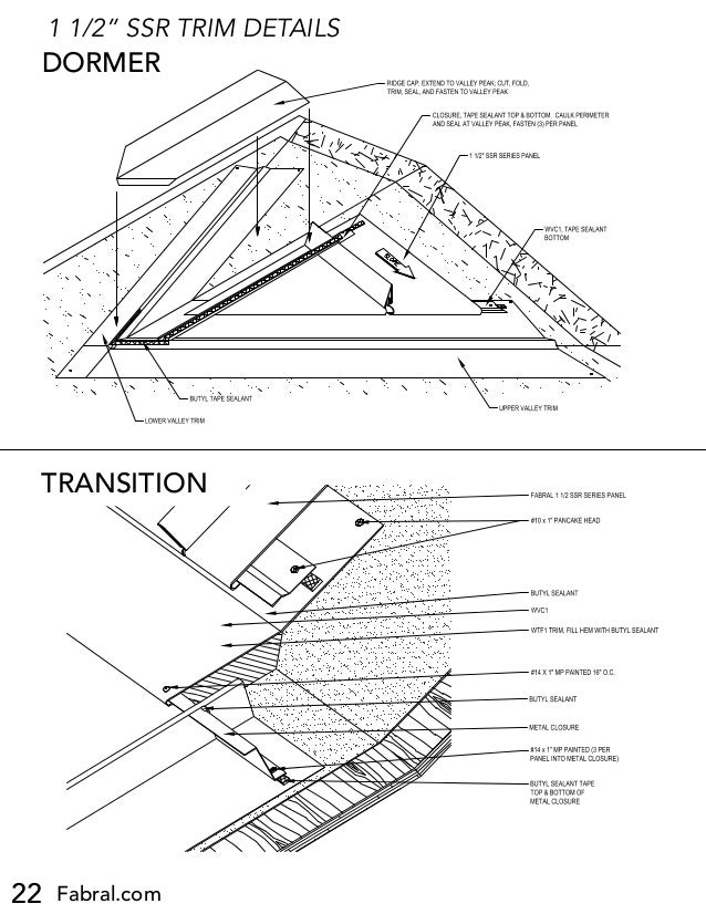 metal sales roofing installation instructions