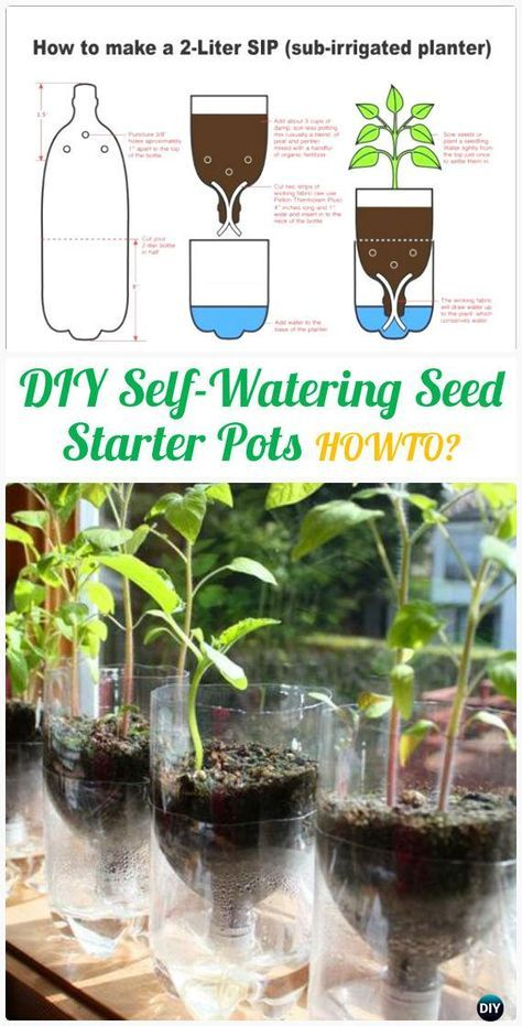 dcn plastic self watering instructions