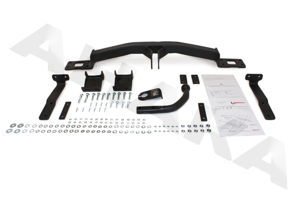mazda 3 tow bar fitting instructions