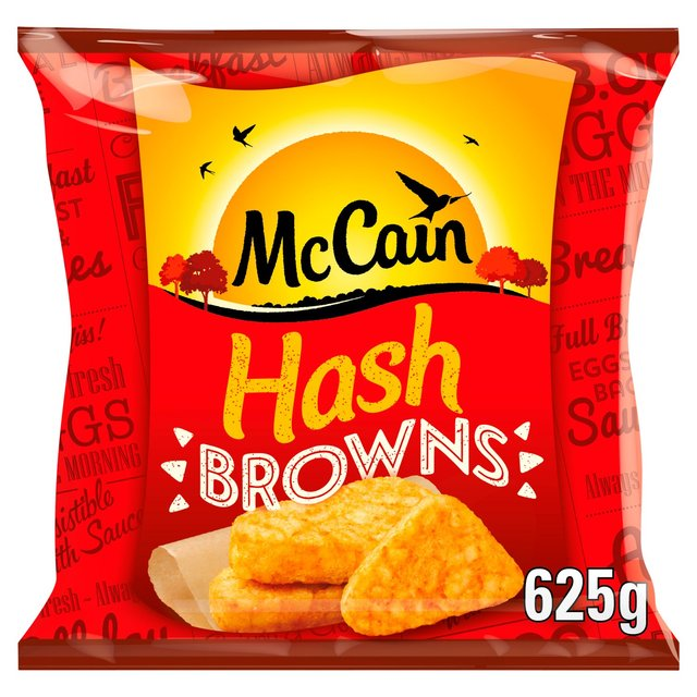 mccain hash brown patties cooking instructions