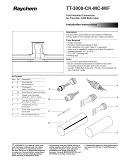 quadrax connector assembly instructions